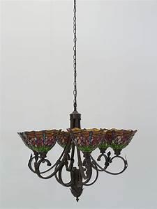 Lampe Mit Mehreren Lampenschirmen : lampe leuchte deckenlampe deckenleuchte im tiffany stil libelle 6 flammig 4285 lampen ~ Markanthonyermac.com Haus und Dekorationen