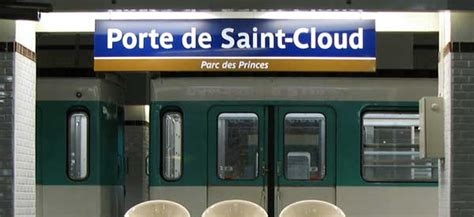 metro porte de cloud parc des princes psg stadium guide football tripper