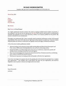 13 great sample cover letters samplebusinessresumecom With good cover letter template
