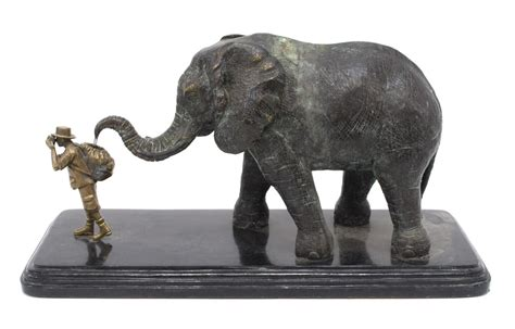 maitland smith whimsical elephant statue exciting auction event day one auction gallery