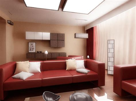 brown and red living room ideas