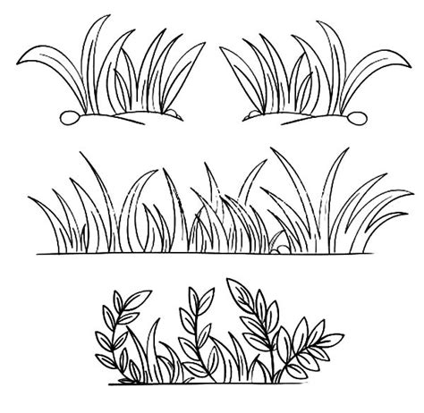 Coloring Grass by Grass Grow So Well Coloring Pages Color
