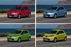 Code Couleur Voiture Renault : la zoe ze en voit de toutes les couleurs voiture electrique ~ Gottalentnigeria.com Avis de Voitures