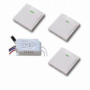 Smart Home Wireless Remote Control With Manual Switch
