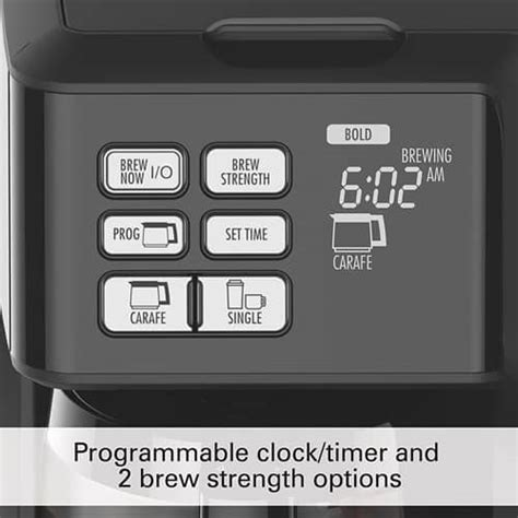 Water and mineral deposits are harmful as they build up inside to restore your previous fresh taste and performance of your hamilton beach, you can clean it with vinegar. Hamilton Beach FlexBrew 2-Way Brewer: Coffee Maker Review