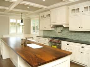 kitchen island with butcher block butcher block kitchen custom cabinets houston cabinet masters