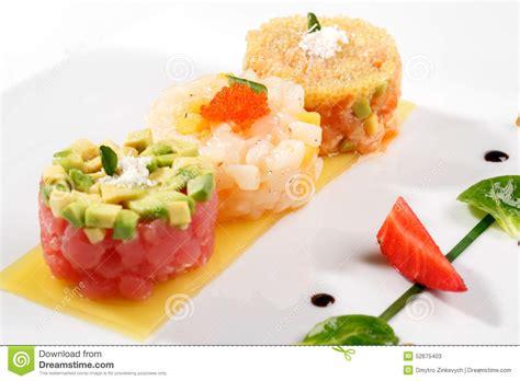 tartare cuisine tartar with tuna fish stock image image of lemon cooked