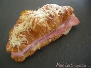 Croissant au jambon & Béchamel Mademoiselle Laeti se met à la cuisine