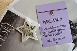 Weihnachtsgeschenke Beste Freundin : diy make a wish armband das perfekte geschenk ~ A.2002-acura-tl-radio.info Haus und Dekorationen