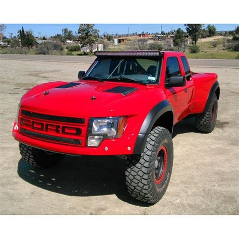 prerunner ranger raptor 93 ford ranger to raptor off road fiberglass one piece