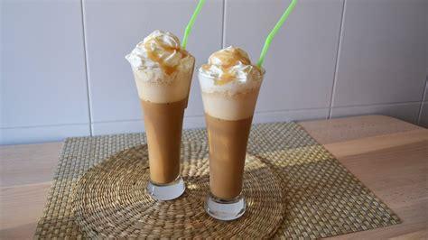 frappuccino de caramelo al estilo starbucks youtube