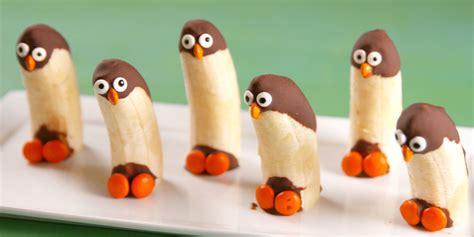eat in kitchen ideas best banana penguins recipe how to banana penguins