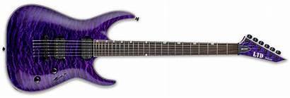 Ltd Mh Esp Purple Thru Guitars 1000