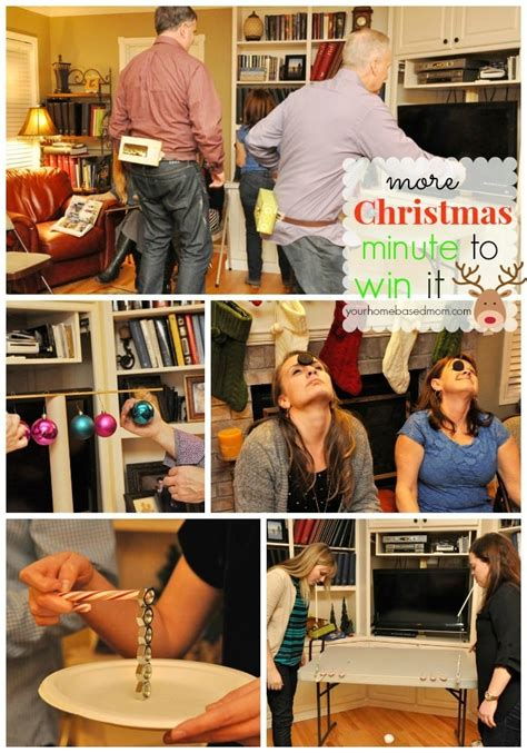 christmas minute to win it games
