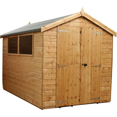 Tidmouth Sheds Wooden Argos by Buy Mercia Wooden Premium Shiplap Apex 10 X 6ft At Argos