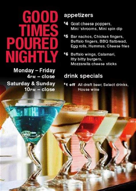 All Night and Extended Happy Hours Now at Houlihan's