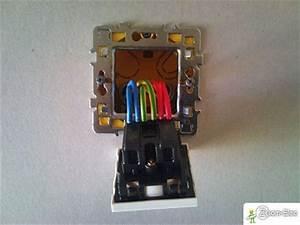 Branchement Electrique Volet Roulant Sur Prise De Courant : prise lectrique montage cblage branchement de prise de ~ Dailycaller-alerts.com Idées de Décoration