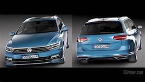 Vw Passat Variant 2017 R Line : 3d model volkswagen passat variant r line 2015 cgriver ~ Jslefanu.com Haus und Dekorationen