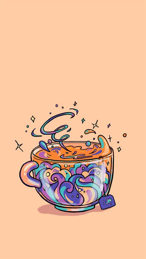 Similar with kawaii food png. Kawaii Coffee Cup Wallpapers - Wallpaper Cave