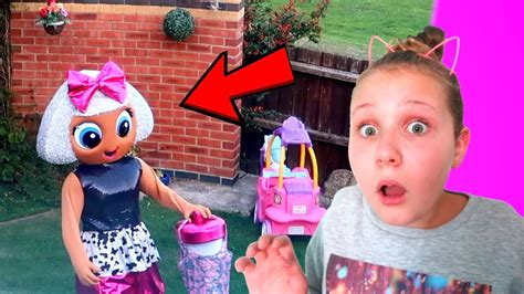 Caught Lol Surprise Doll In My House!! (diva Left Us