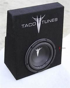 Tacoma 10 U0026quot  Subwoofer Box And Subwoofer Packaged 2005