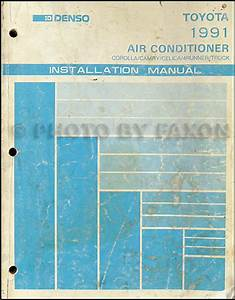 1991 Toyota 4runner Wiring Diagram Manual Original