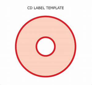6 sample cd label templates to download sample templates With free printable cd labels