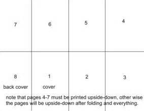 How To Make A Onesheetofpaper Book 5 Steps