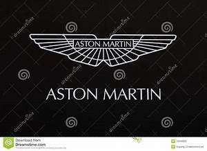 Aston Martin Logo Editorial Image Image 16345830