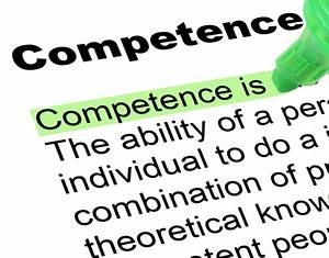 Competence - Highlighted Words and Phrases