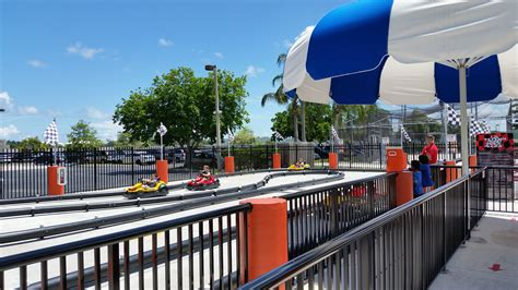 Boomers of boca raton features miniature golf, go karts, bumper boats, laser tag, rock wall, batting cages, arcades and mini bowling. Boomers Boca Raton | South Florida Finds