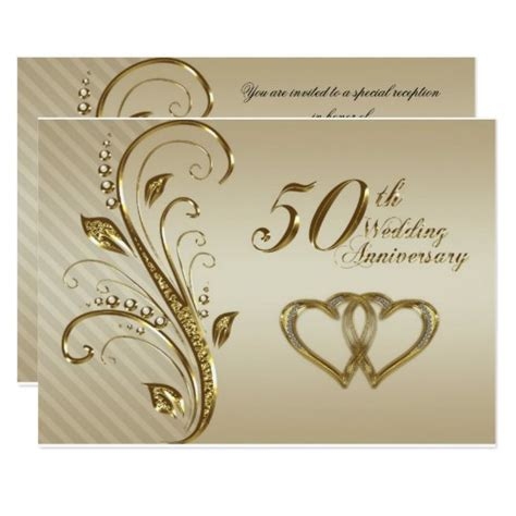 wedding anniversary rsvp card zazzleca