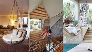 Fauteuil Suspendu Plafond : 49 photos de fauteuils suspendus pour votre int rieur ~ Teatrodelosmanantiales.com Idées de Décoration