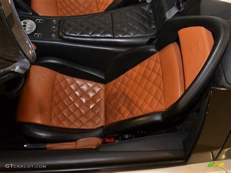 Blackbrown Interior 2008 Lamborghini Murcielago Lp640