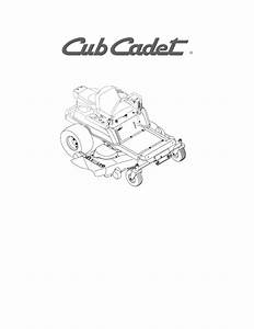 Cub Cadet Rzt50 Owners Manual