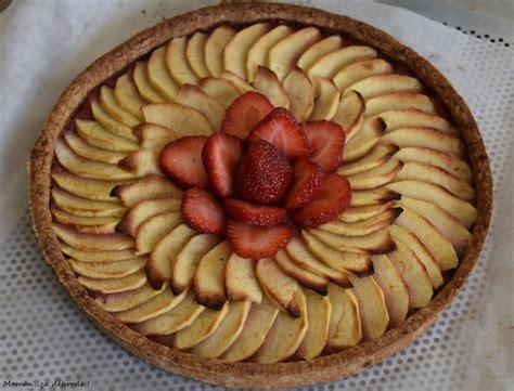 tarte aux pommes 224 la fraise maman 231 a d 233 borde
