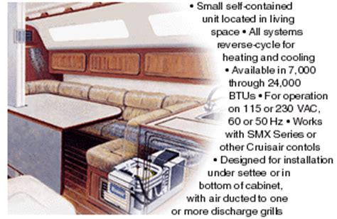cruisair air conditioning dx contained systems tropical marine