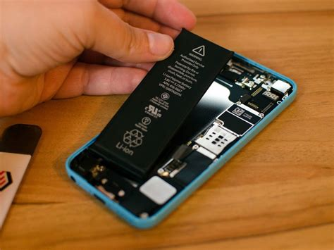 iphone 5s color change how to replace the iphone 5c battery imore
