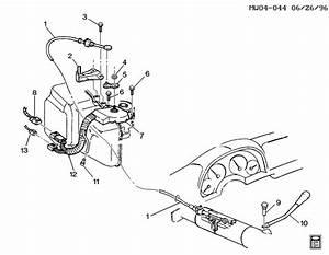 Pontiac Grand Prix Cable  Transmission Shift Control Cable