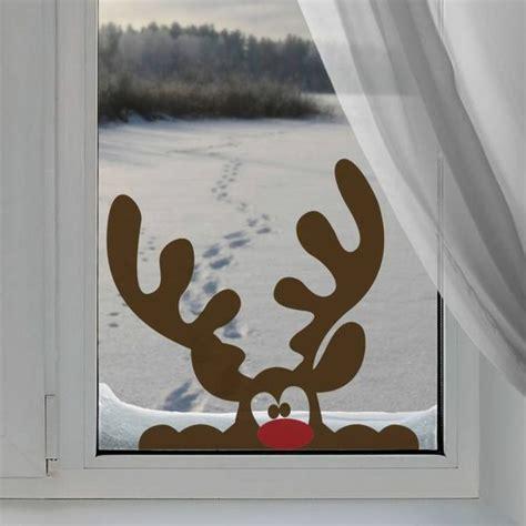 Fensterdeko Weihnachten Rentier by Kreative Ideen F 252 R Eine Festliche Fensterdeko Zu