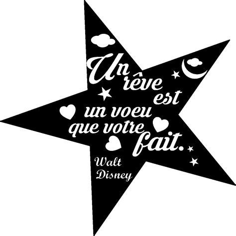 carreaux muraux cuisine stikcker citation un rêve est un voeu walt disney stickers citations français ambiance sticker