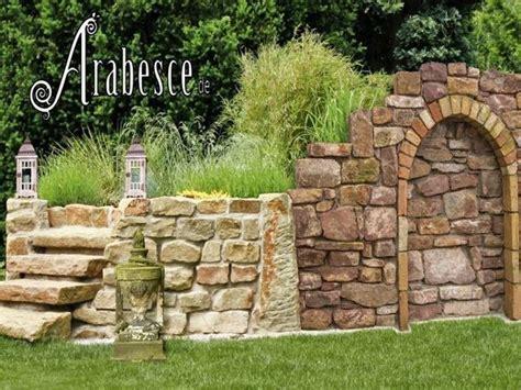 Trockenmauern Für Den Garten by Garten Trockenmauer