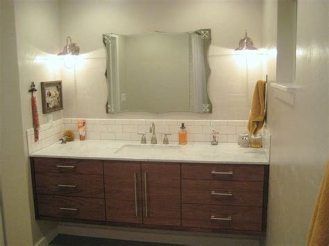 Bathroom, Design Modern Bathroom Sink Single Vanities
