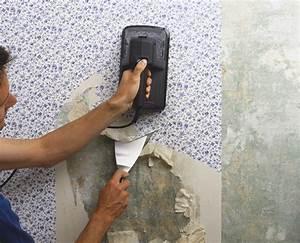 comment utiliser decolleuse papier peint With comment decoller du papier peint sans decolleuse
