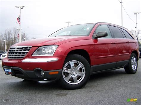 Chrysler Pacifica Touring 2005 by 2005 Inferno Pearl Chrysler Pacifica Touring
