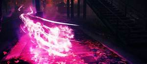 Video Game Gifs | inFAMOUS: Second Son - Neon Powers: Running