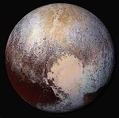what is the color of pluto reinstating pluto as a planet weelunk