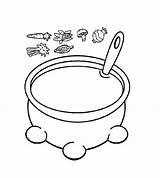 Coloring Soup Pot Pumpkin Pages Visit Alphabet Apple sketch template