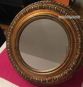 Runder Spiegel Holz : antiker runder spiegel ~ Indierocktalk.com Haus und Dekorationen