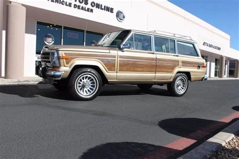 1989 jeep wagoneer limited 1989 jeep grand wagoneer limited 4x4 stock p1107 for